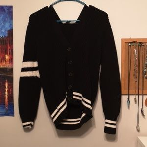 Knit Thick Cardigan